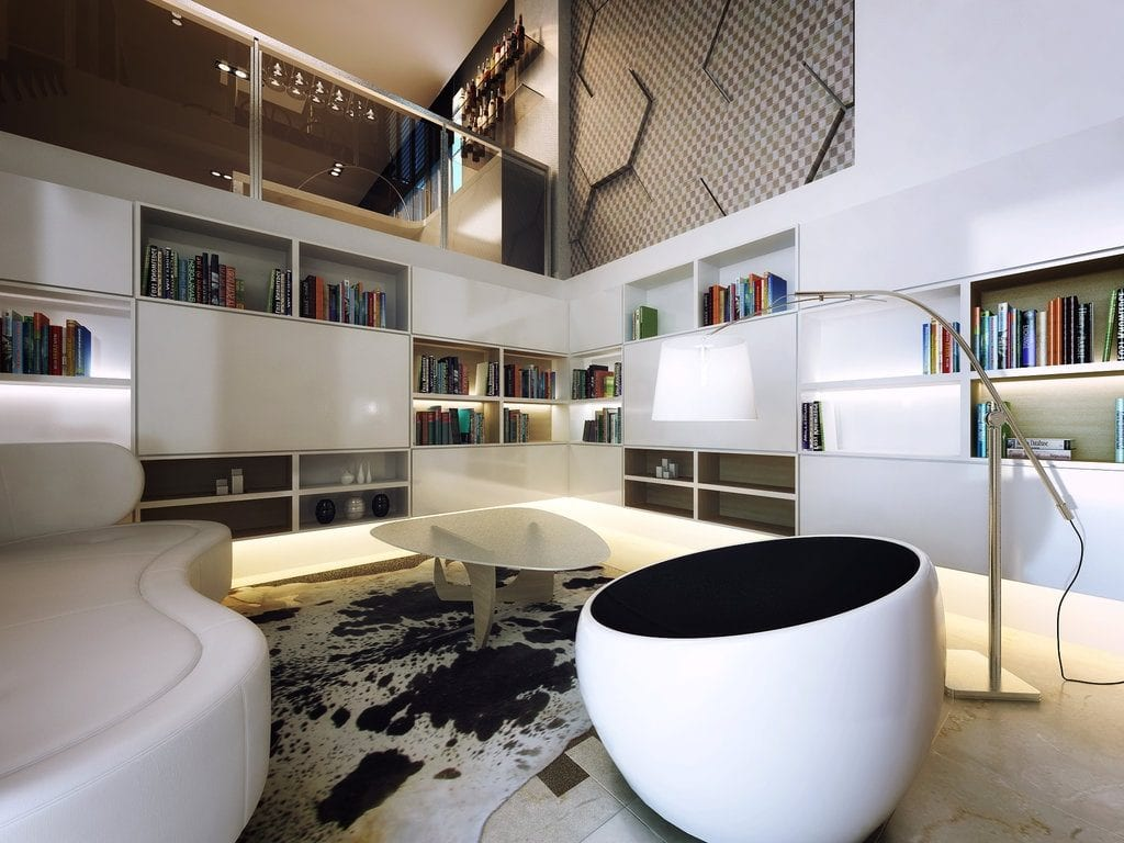 How To Decorate Rooms With High Ceilings Amberth